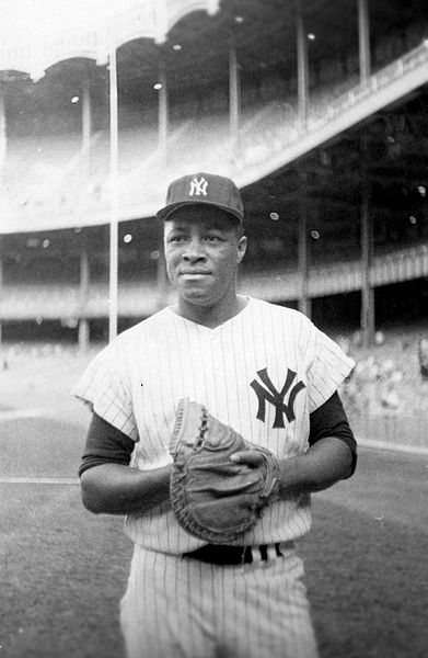 Much more than just the first African-American Yankee.
